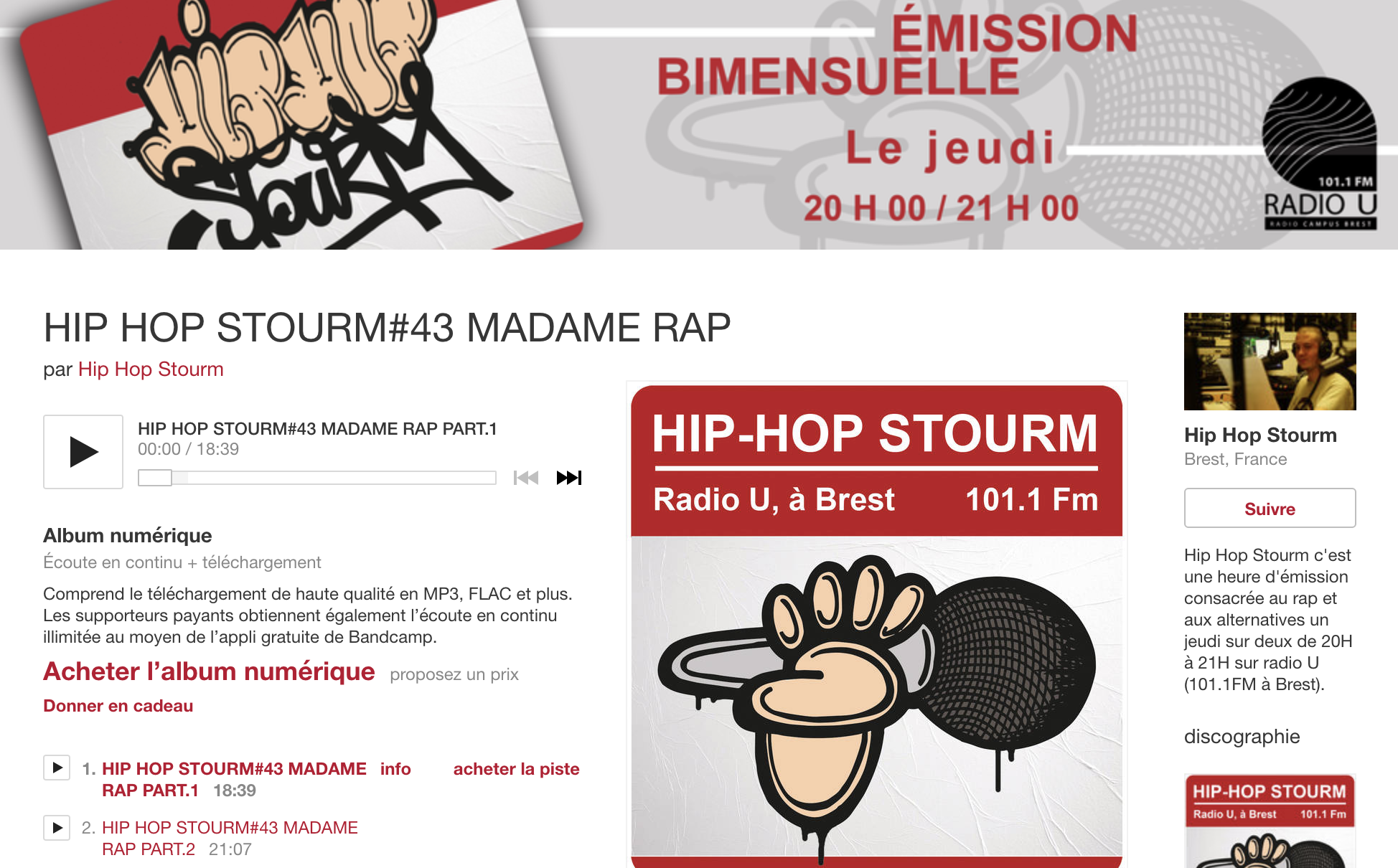 MR-Hip hop stourm