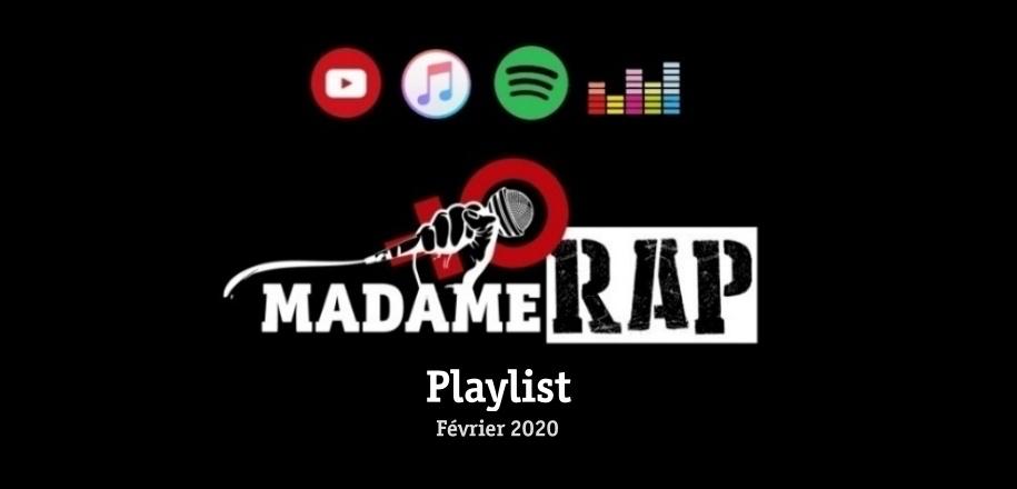 Playlist Madame Rap – Février 2020
