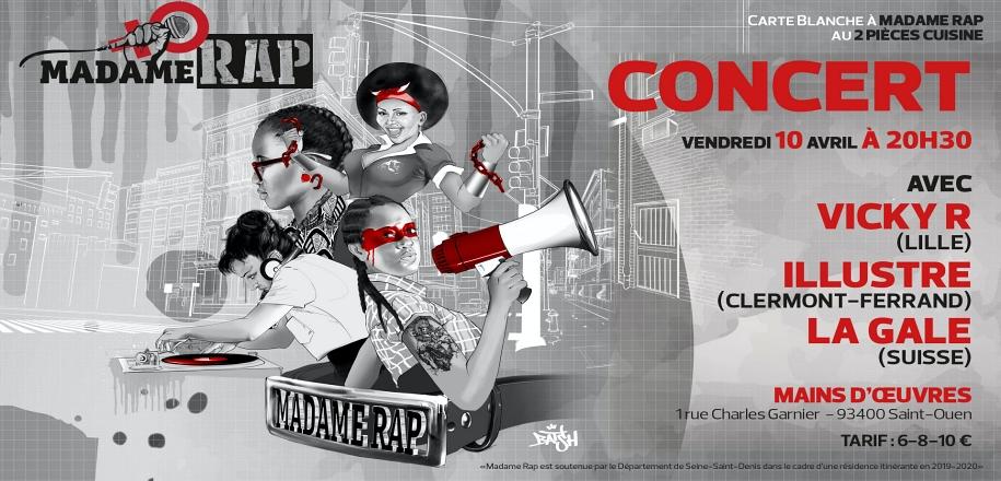 Concert Vicky R + Illustre + La Gale